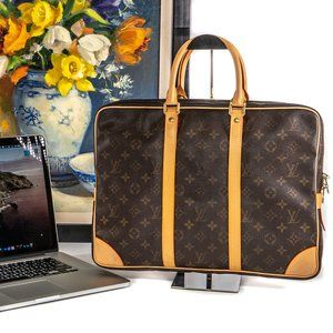 LOUIS VUITTON Macbook Pro Soft Briefcase